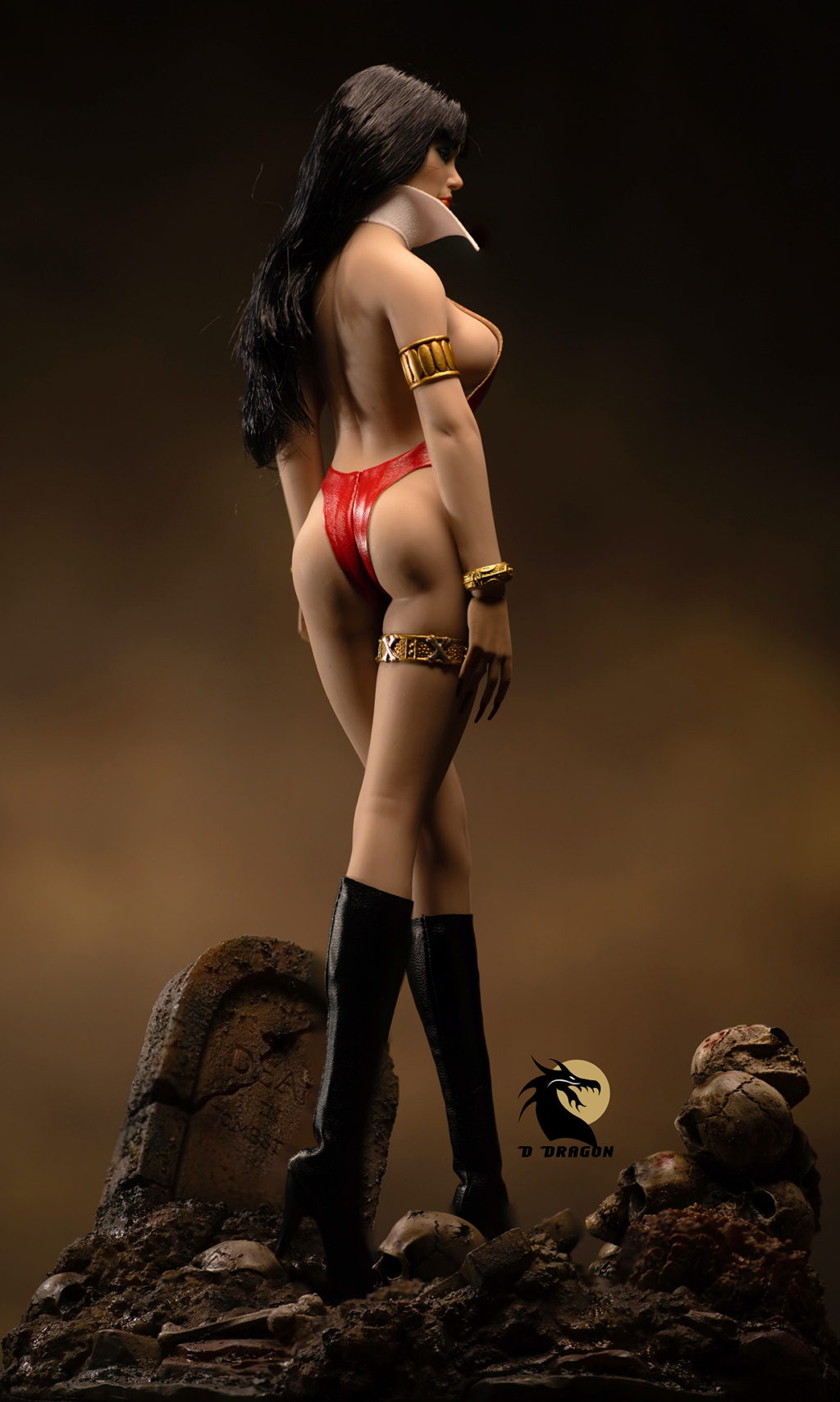 fantasy - NEW PRODUCT: TBLeague: 1/6 bloodsucking red face - Vampirella 50th Anniversary Edition (#PL2019-152) Tbl_va13
