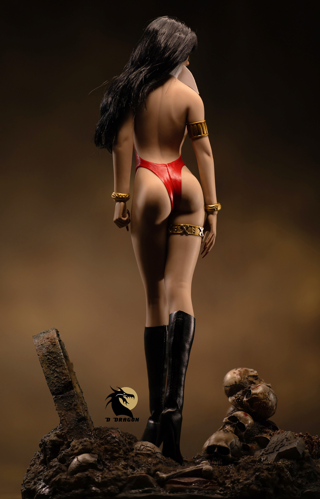 fantasy - NEW PRODUCT: TBLeague: 1/6 bloodsucking red face - Vampirella 50th Anniversary Edition (#PL2019-152) Tbl_va15