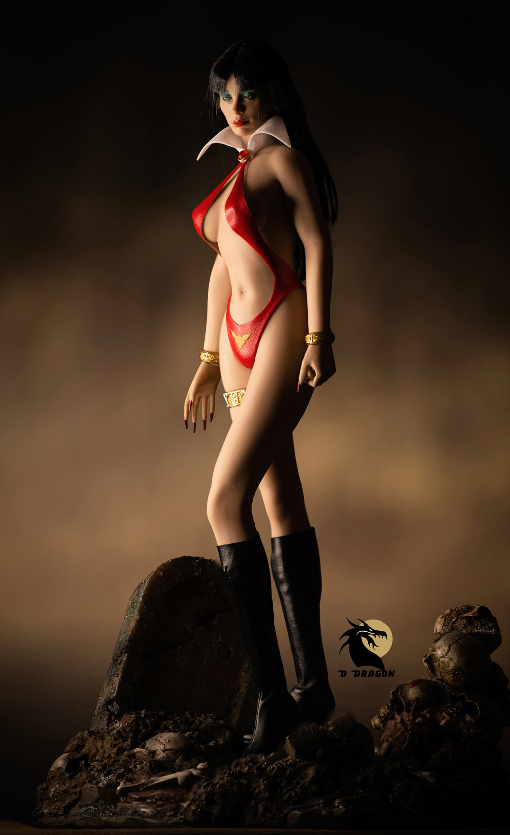 fantasy - NEW PRODUCT: TBLeague: 1/6 bloodsucking red face - Vampirella 50th Anniversary Edition (#PL2019-152) Tbl_va17