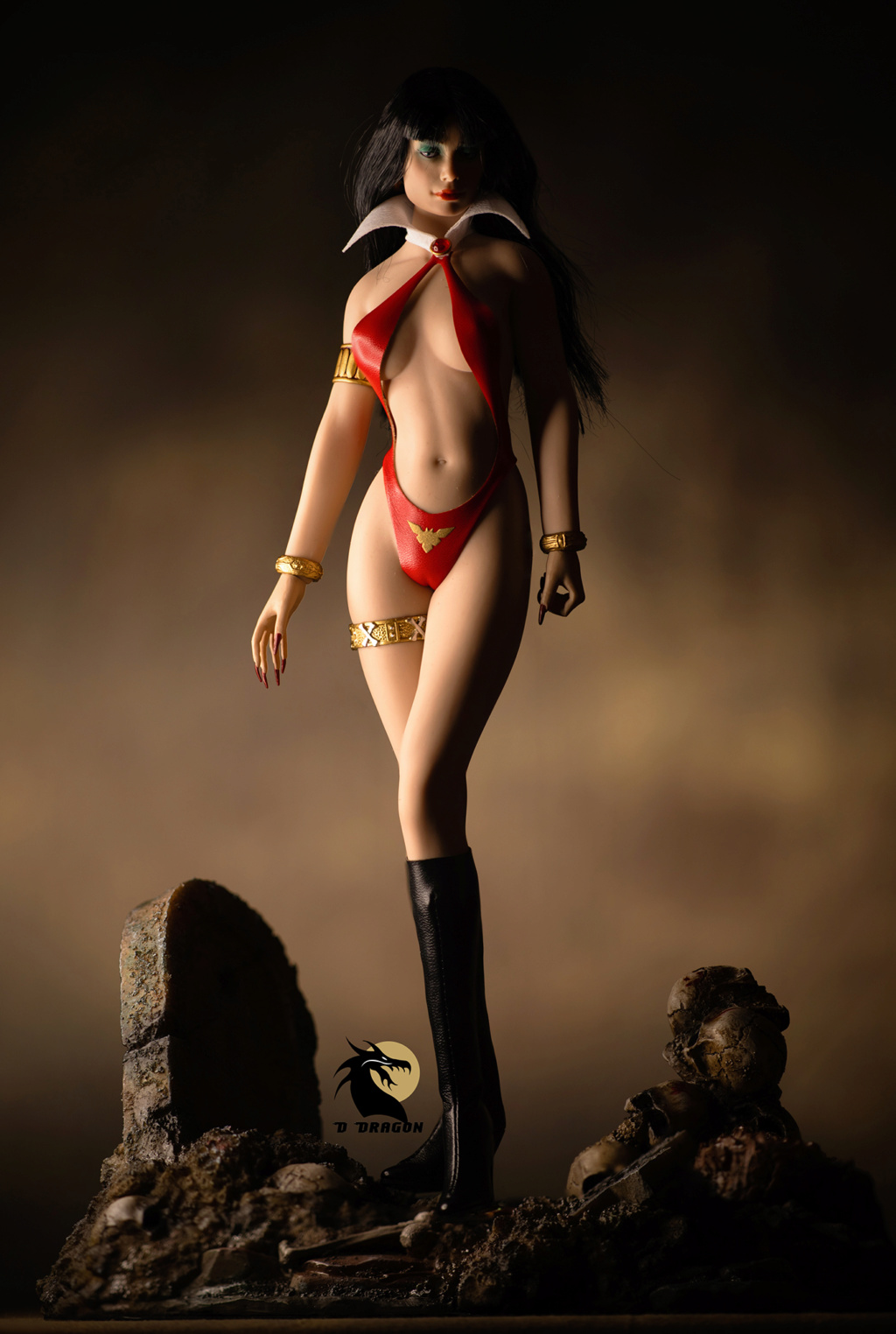 fantasy - NEW PRODUCT: TBLeague: 1/6 bloodsucking red face - Vampirella 50th Anniversary Edition (#PL2019-152) Tbl_va18
