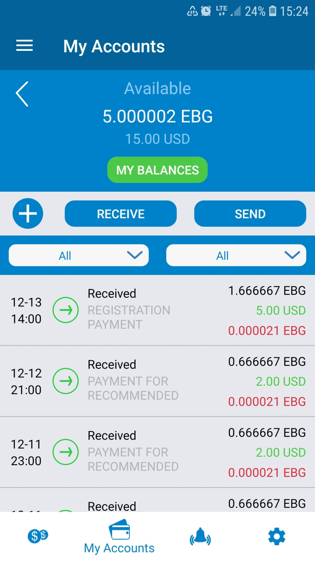 Faswet Wallet 5 USD Screen10