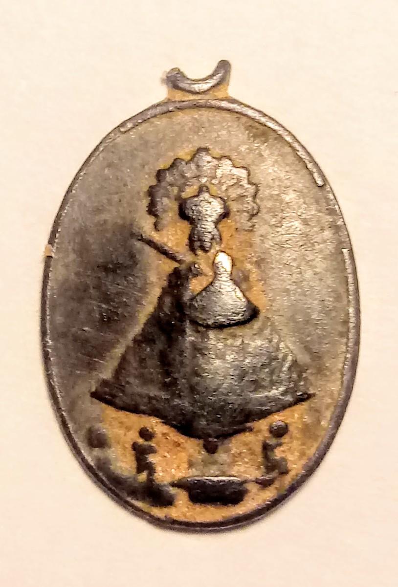 Medallita Virgen del Pilar  20200110