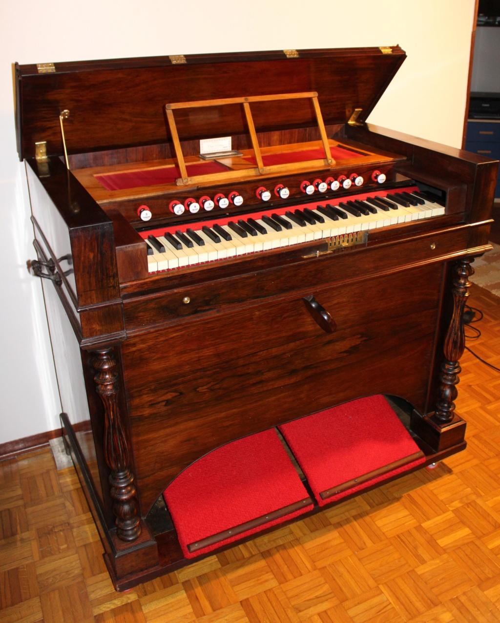 Harmonium Alexandre Père et Fils 4 jeux - 1864 n. 37359 Img_0411