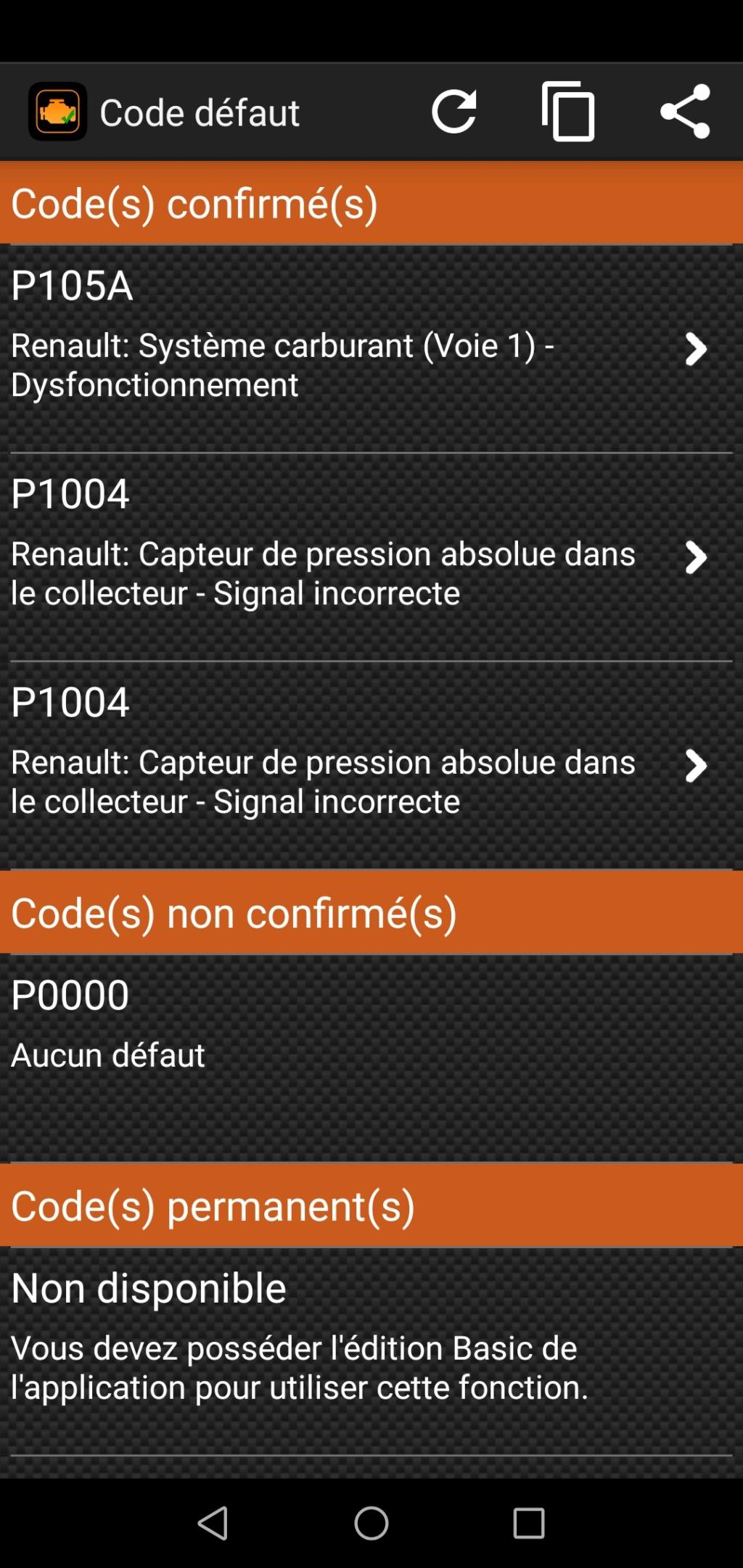 [ Renault Twingo 1.2 16v an 2001 ] Voyant défaillance électronique - Page 2 Screen11
