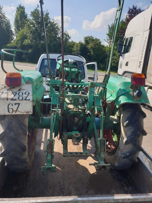 TRACTEUR - vidange tracteur holder B10 20200613