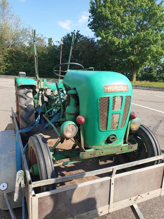 TRACTEUR - vidange tracteur holder B10 20200614