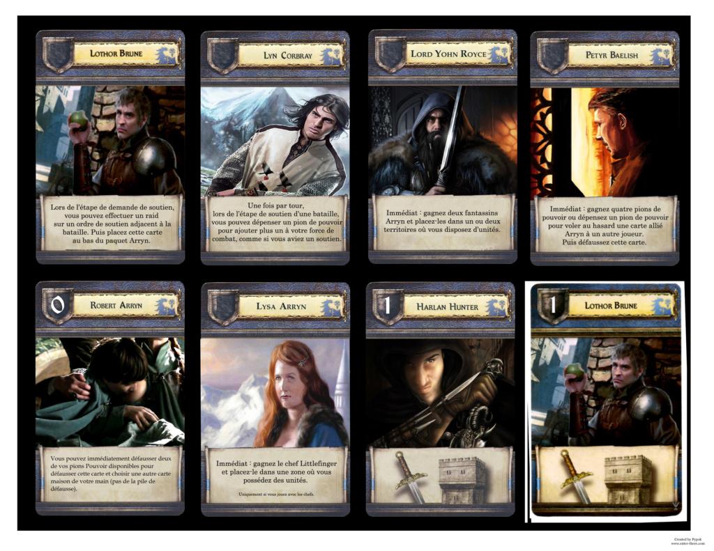 Customisations du jeu de plateau  Cartes13