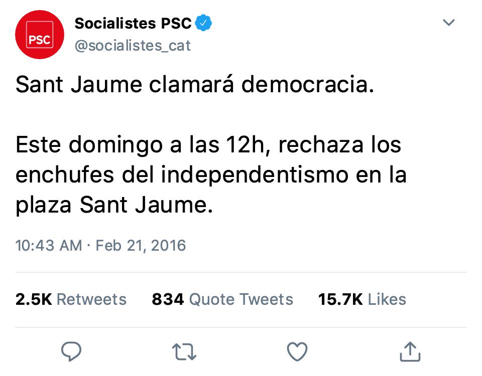 SOCIALISTAS EN TWITTER Jaume11