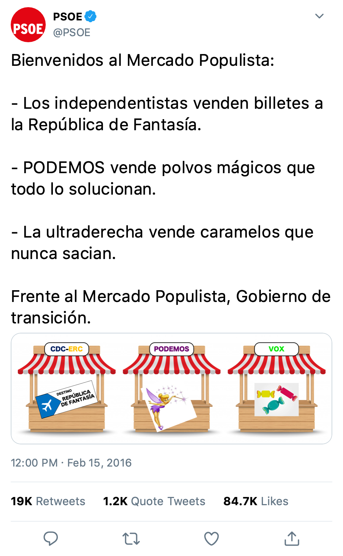 SOCIALISTAS EN TWITTER Mercad10
