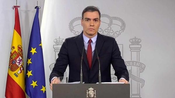 [GOBIERNO DE ESPAÑA] Comparecencia del Presidente del Gobierno en funciones, Pedro Sánchez, para informar sobre lo acontecido en Cataluña Pedro_15