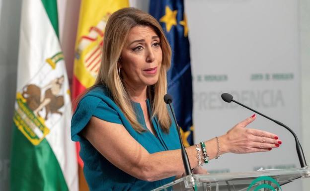 [RUEDA DE PRENSA PSOE-A] Susana Díaz comparece tras la Sesión de Investidura de Juan Marín (C's) como Presidente de la Junta de Andalucía Zuzani10