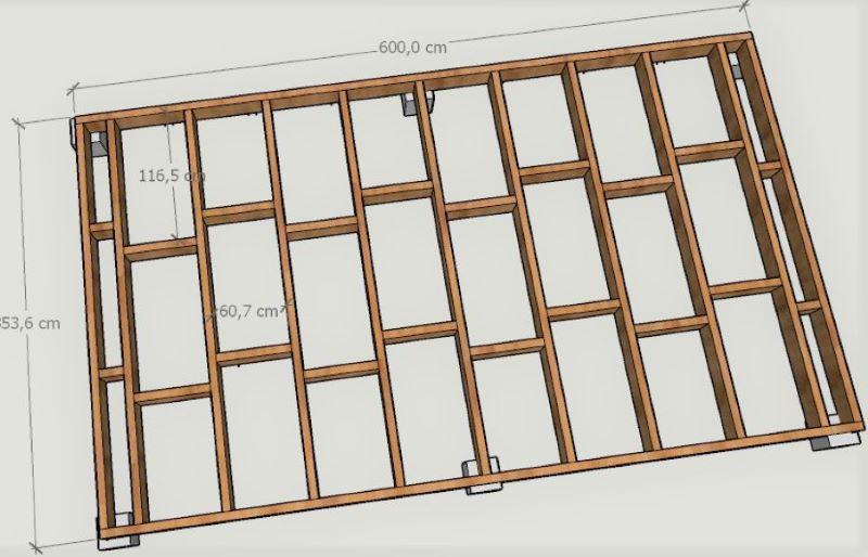 projet abri de jardin / atelier Planch10