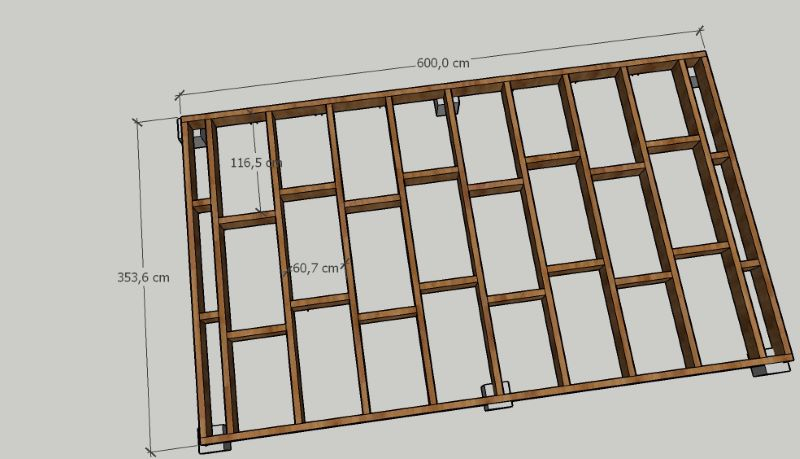 projet abri de jardin / atelier Planch11
