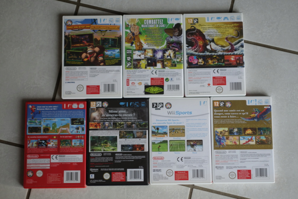 [VDS] Jeux Wii + divers titres Nintendo Dsc06425