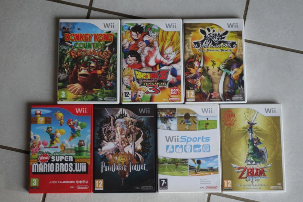 [VDS] Jeux Wii + divers titres Nintendo Dsc06426