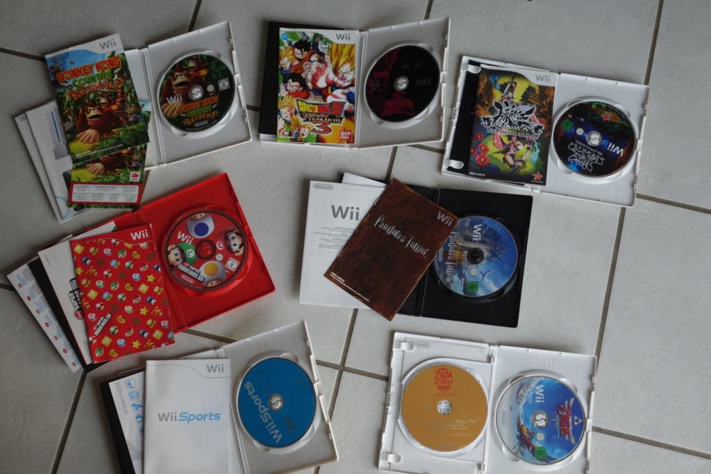 [VDS] Jeux Wii + divers titres Nintendo Dsc06510