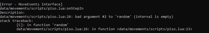 [Moveevents] Piso que cura X Veces (TFS 0.4.0/0.3.7/ OTX 2) Screen25