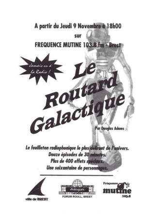 [Chronique de la Bibliothécaire] Guide du voyageur galactique  Affich11