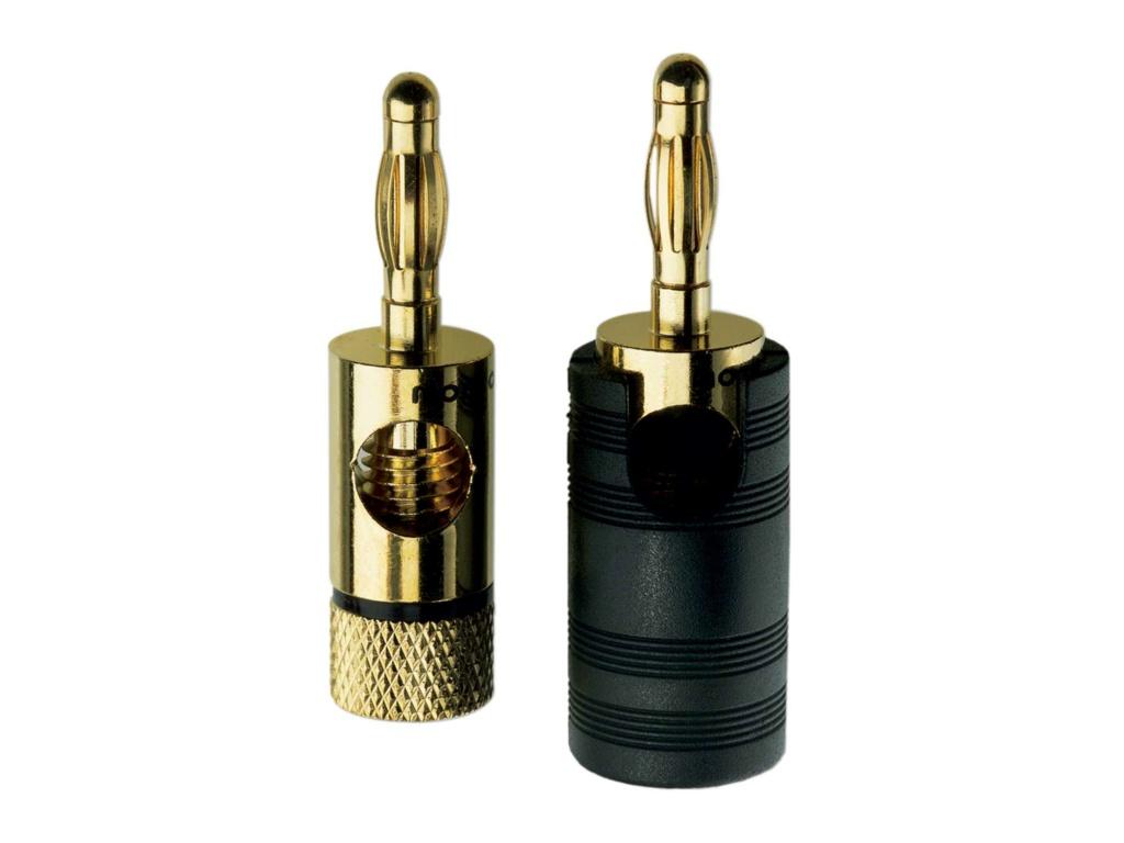 Inakustik Premium Multi Contact Banana Plug (Set of 4) 00814710