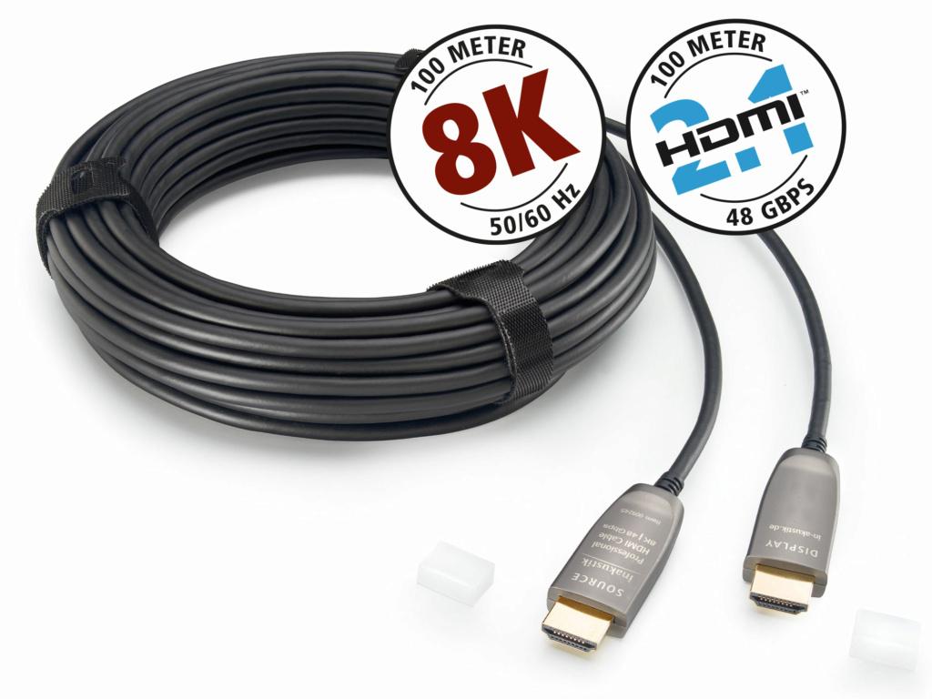 Inakustik High Speed HDMI 2.1 Fiber Optic 8K (15meter) 00924518