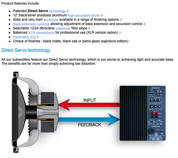 Rythmik F12 Direct Servo subwoofer 12″ sealed audiophile subwoofer 1037ba10