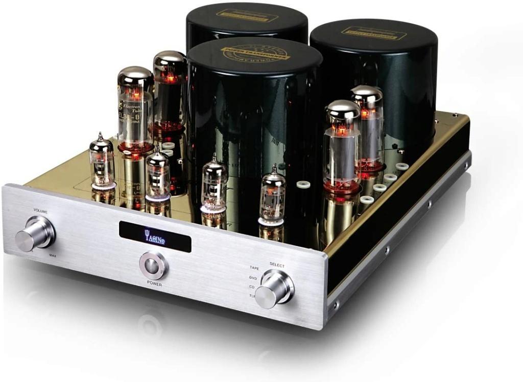YAQIN MC-10T 52WPC EL34 10L Vacuum Tube Hi-End Integrated Amplifier 61mzql10