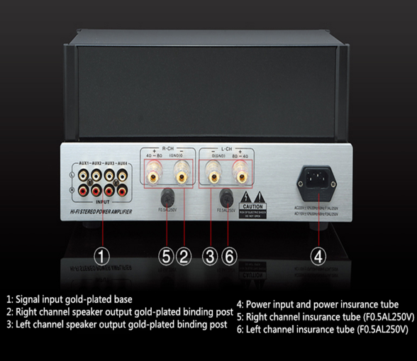 YAQIN MC-6P1P Vacuum Tube Hi-end Integrated Amplifier Amplif10
