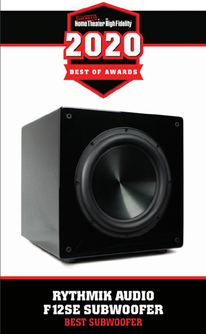F12 Direct Servo subwoofer – Signature Edition 12″ Award_11