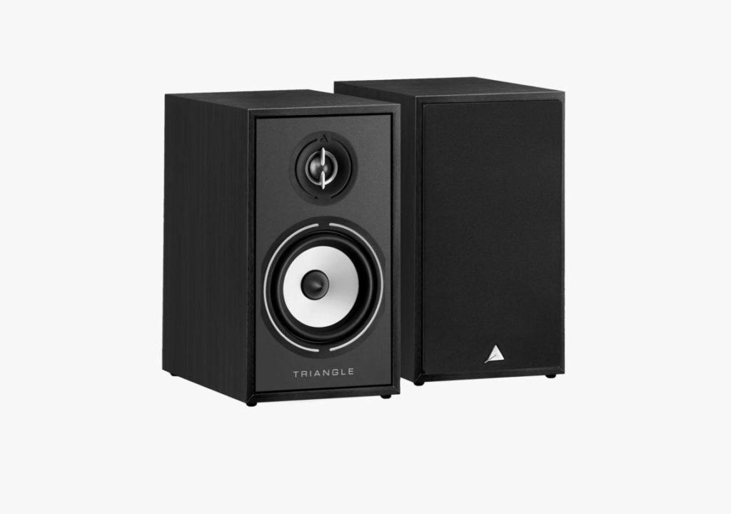 Triangle BR-02 Bookshelf Speaker (Pair) + Free Gift Borea-10