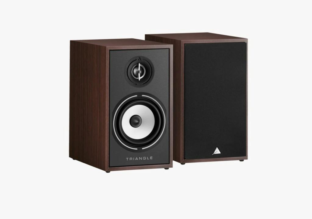 Triangle BR-02 Bookshelf Speaker (Pair) + Free Gift Borea-12