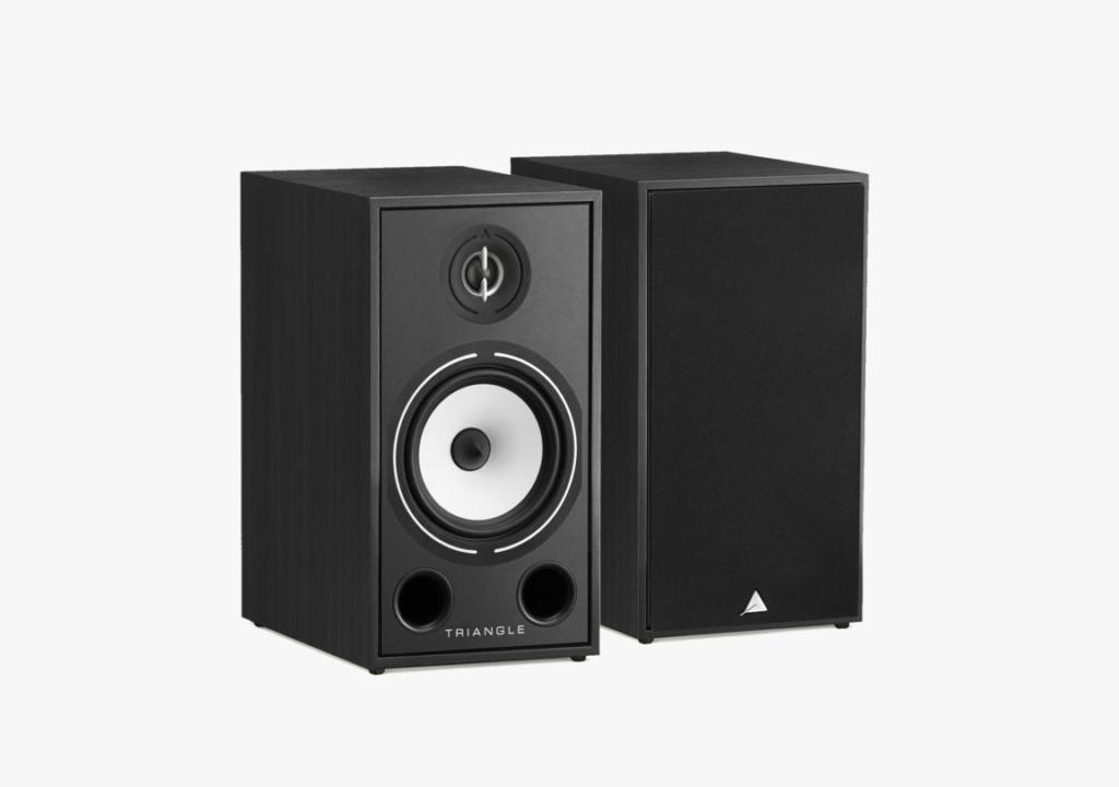 Triangle BR-03 Bookshelf Speaker (Pair) + Free Gift Borea-18