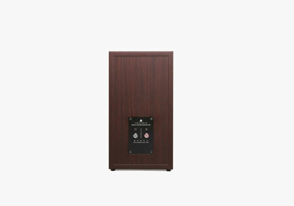 Triangle BR-03 Bookshelf Speaker (Pair) + Free Gift Borea-19