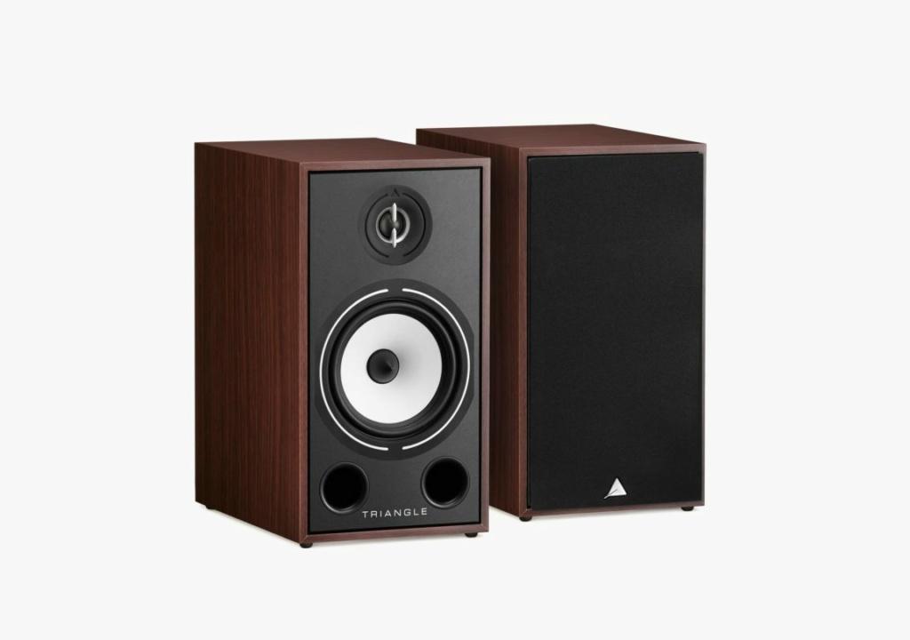 Triangle BR-03 Bookshelf Speaker (Pair) + Free Gift Borea-20