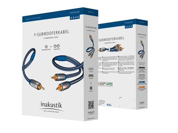 Inakustik Premium Stereo Subwoofer Cable (5meter) Csm_0053