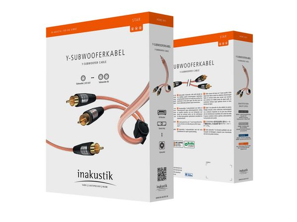 Inakustik Star Stereo Subwoofer Cable (5meter) Csm_0059