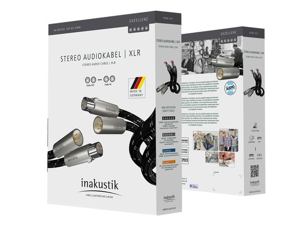 Inakustik Excellence Balance XLR Cable – Made in Germany (1.5meter) Csm_0063