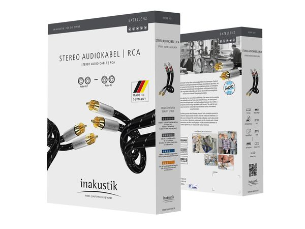 Inakustik Excellence Interconnect Cable – Made in Germany (1.5meter) Csm_0068