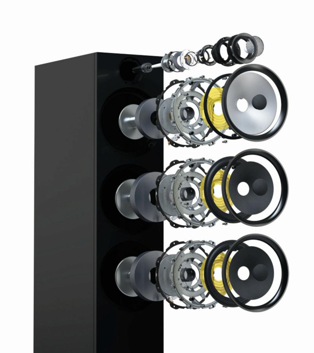 Bowers & Wilkins 603 S2 Anniversary Edition Floorstanding Speaker (Light Oak) (Pair) G_58_610