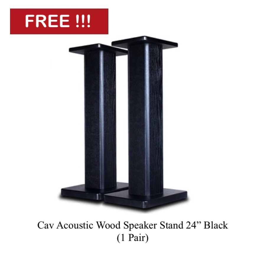 Triangle BR-02 Bookshelf Speaker (Pair) + Free Gift Image_12