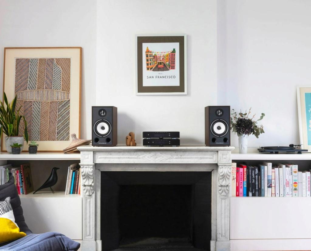 Triangle BR-03 Bookshelf Speaker (Pair) + Free Gift Lifest10
