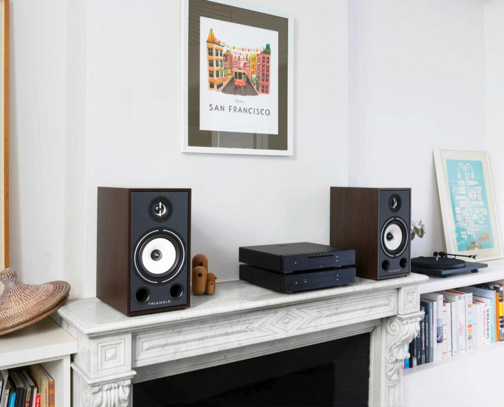Triangle BR-03 Bookshelf Speaker (Pair) + Free Gift Lifest11