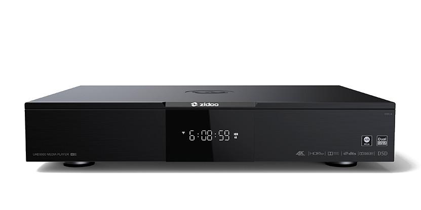 Zidoo UHD3000 Flagship 4K UHD HIFI Media Player Mp110-10