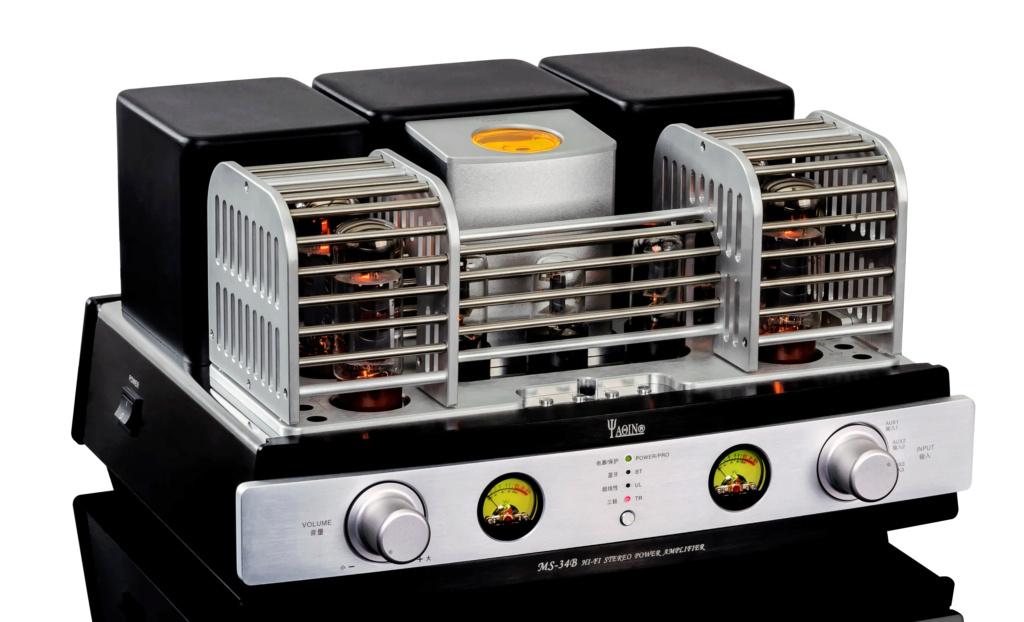 Yaqin MS-34B HIFI EL34 tube integrated push-pull HiFi Bluetooth amplifier Ms-35b12