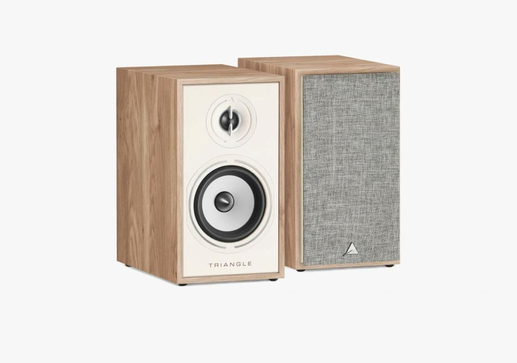 Triangle BR-02 Bookshelf Speaker (Pair) + Free Gift Packsh10