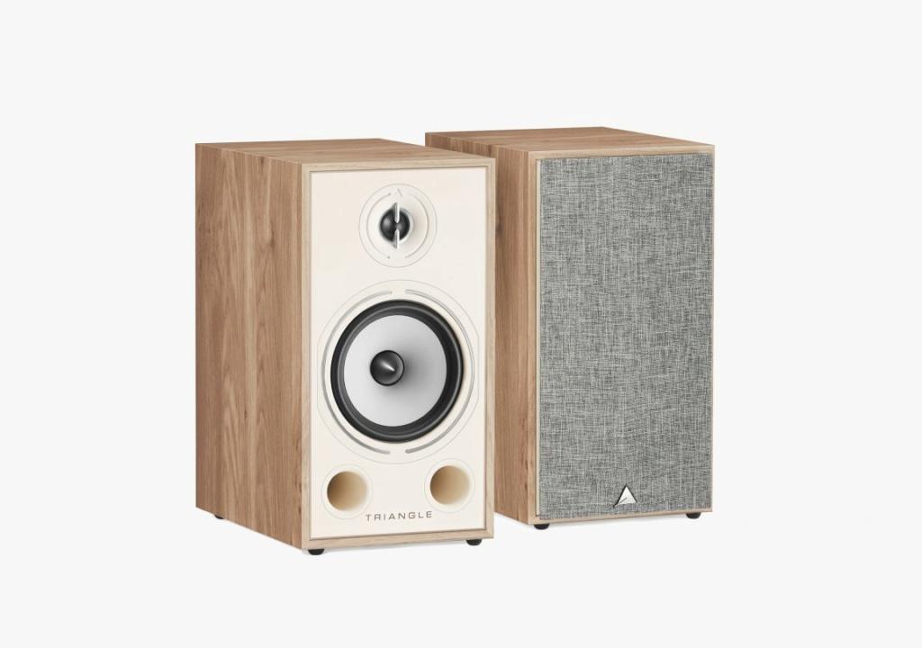 Triangle BR-03 Bookshelf Speaker (Pair) + Free Gift Packsh12