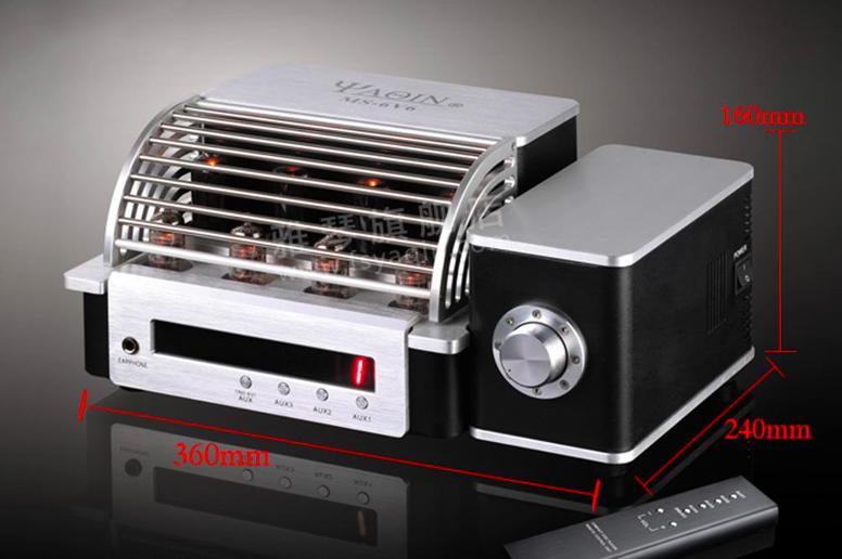 Yaqin MS-6V6 Class A Vacuum Tube Integrated Headphone Amplifier Screen48