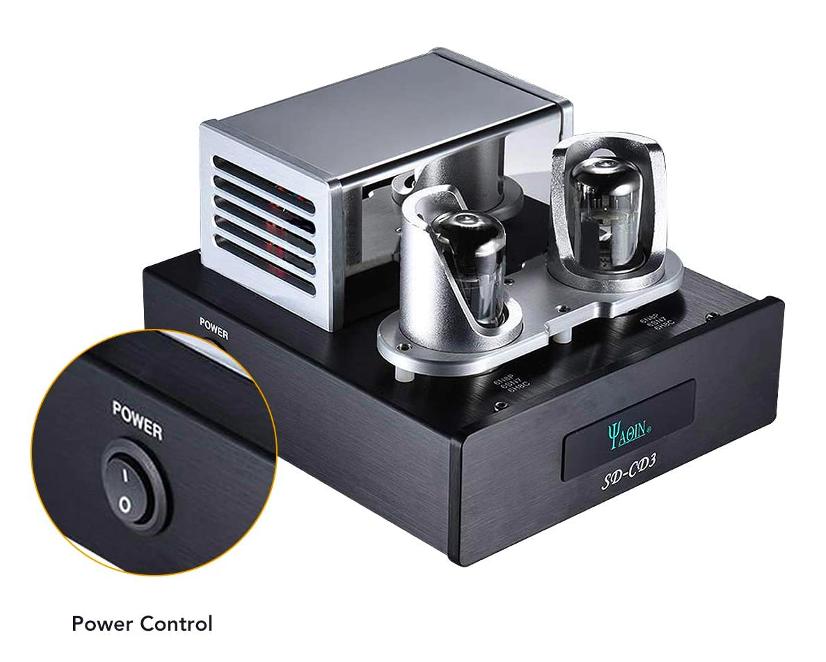 YAQIN SD-CD3 6N8P Tube Signal Upgrade Hi-End Buffer Processor for CD Player Screen50