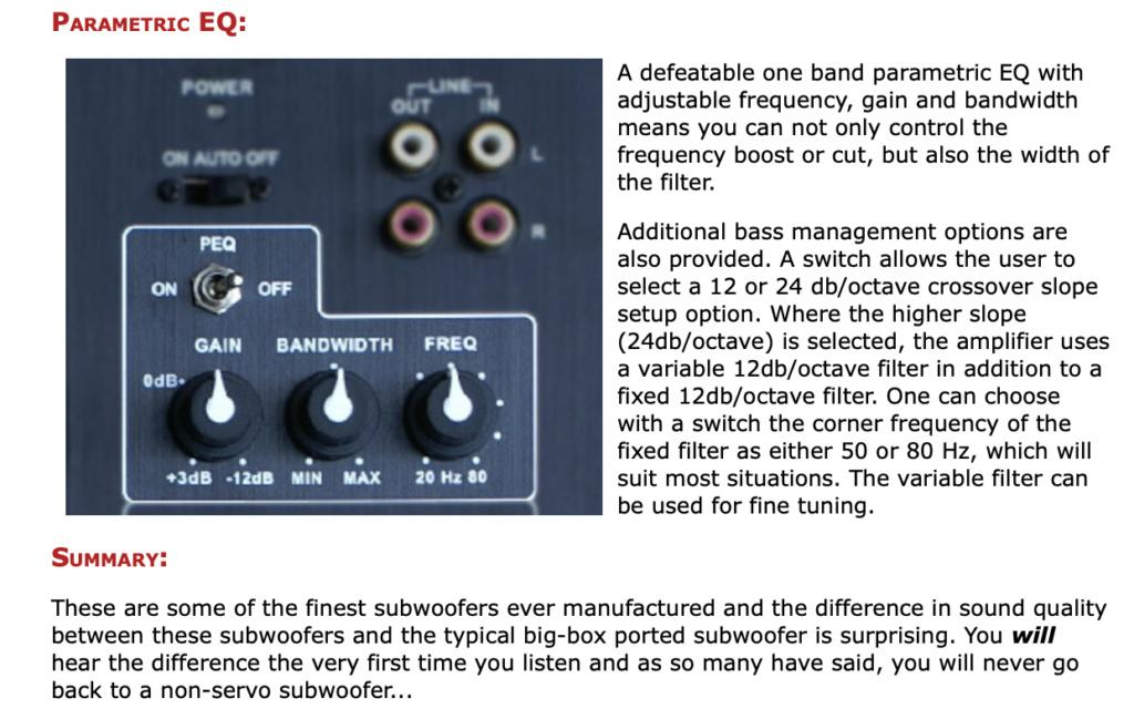 Rythmik FV15HP Direct Servo subwoofer 15″ – Piano Gloss Screen91