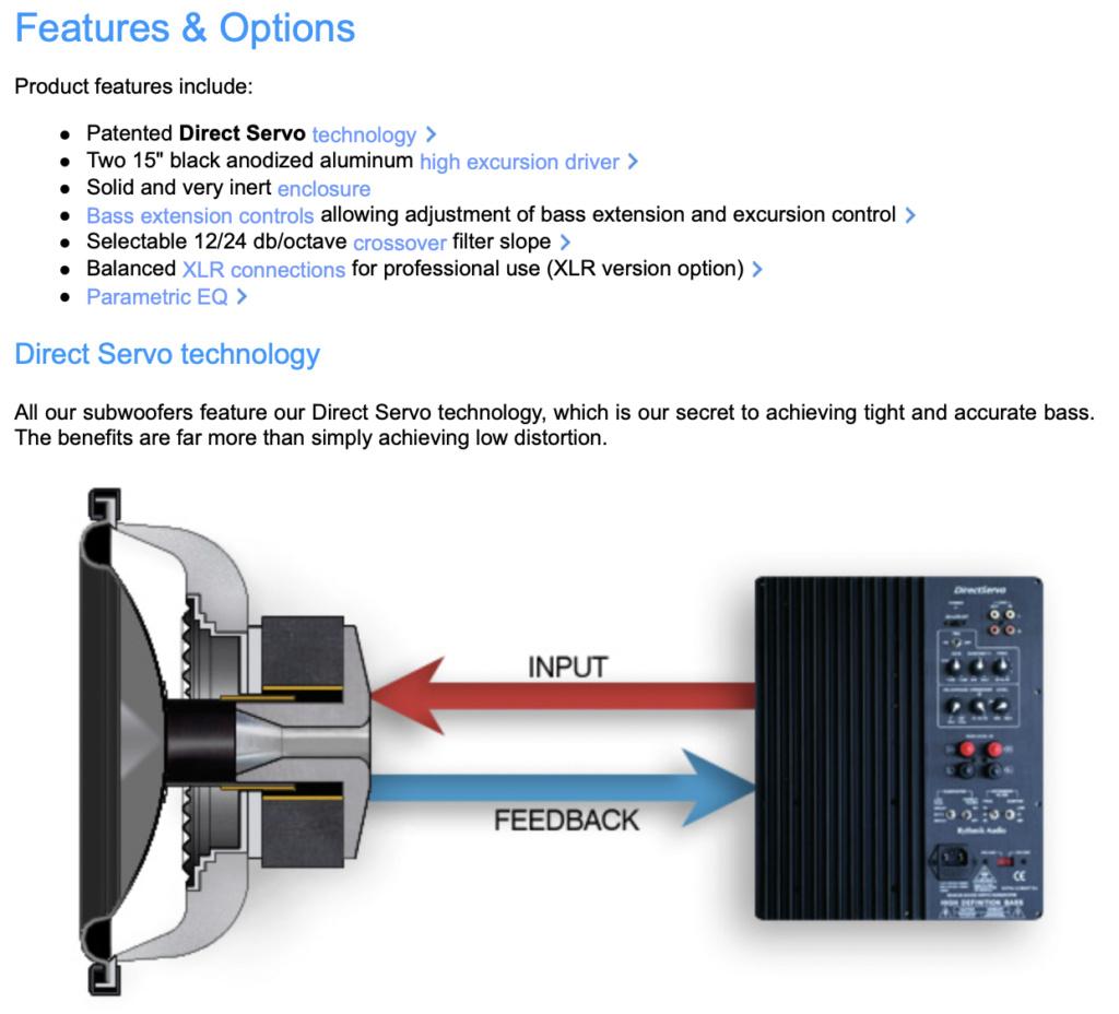 FV25HP Direct Servo subwoofer Dual 15″ Screen98