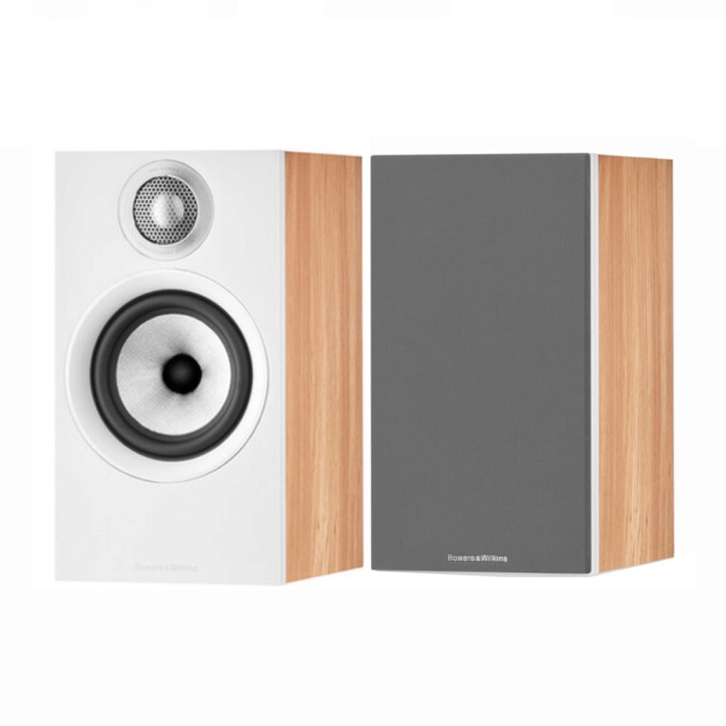 Bowers & Wilkins 607 S2 Anniversary Edition Bookshelf Speaker (Light Oak) (Pair)  Slide412